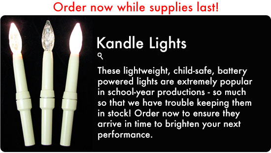 Kandle Lights on GoldenRuleMusic.com